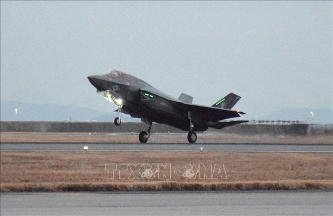 Tiem kich F-35B My roi sau va cham voi