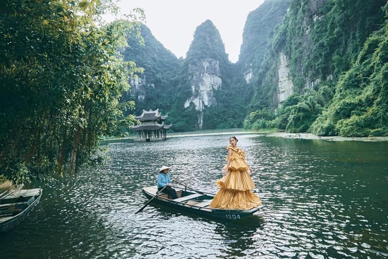 Do My Linh dep nhu nang tien trong bo anh thoi trang o Ninh Binh-Hinh-4