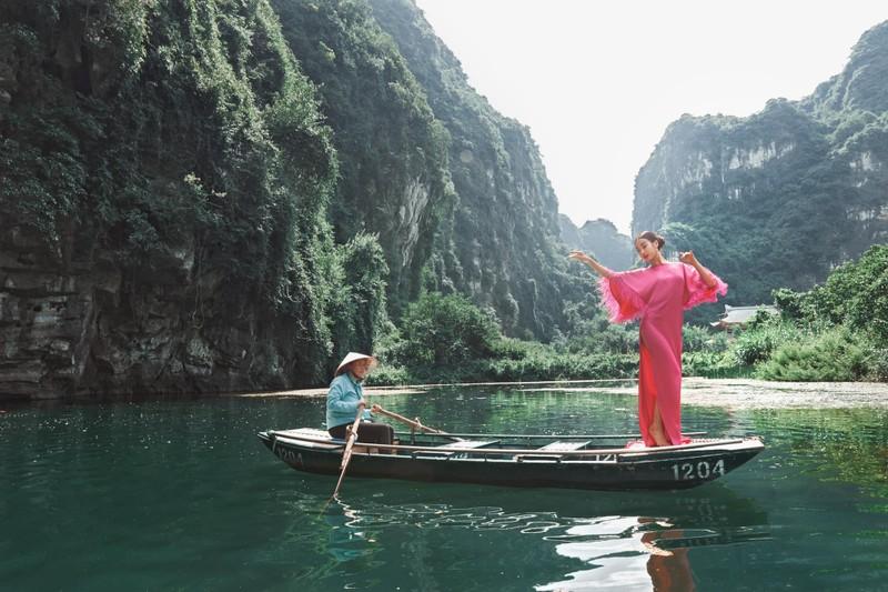 Do My Linh dep nhu nang tien trong bo anh thoi trang o Ninh Binh-Hinh-5