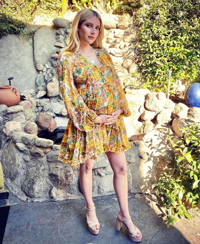 Gu thoi trang bau cuc sanh dieu cua my nhan Hollywood Emma Roberts-Hinh-4