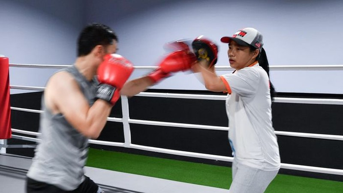 Nu trong tai boxing dau tien cua Viet Nam-Hinh-9