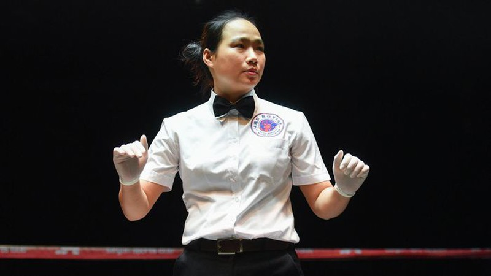 Nu trong tai boxing dau tien cua Viet Nam