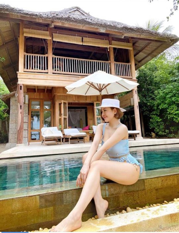 "Bi kip giup hot girl Tram Anh tu tin mac bikini khoe voc dang ""boc lua""-Hinh-3"