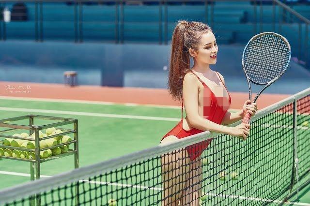"""""""Nhuc mat"""" thoi trang thieu vai cua cac my nhan tren san tennis-Hinh-11"""
