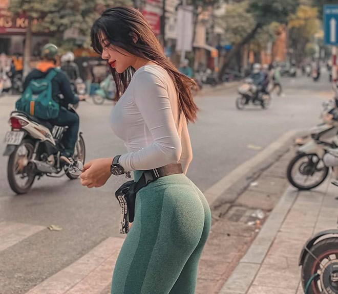 """Hot girl phong gym chia se bi kip tap vong ba """"khung"""" dat 1 met-Hinh-11"""