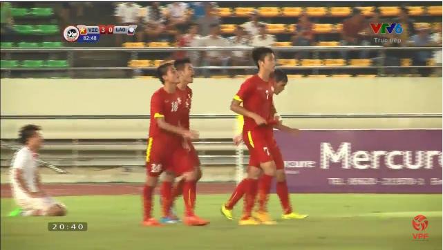 U19 Viet Nam 4-0 U19 Lao: Dai thang mung Quoc khanh 2/9
