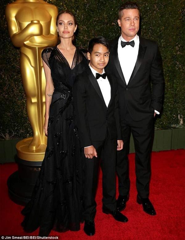 Maddox khong coi Brad Pitt la cha