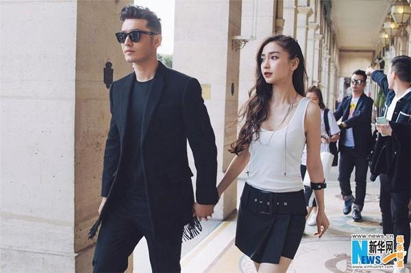 Huynh Hieu Minh va Angelababy la cap doi giau nhat Cbiz