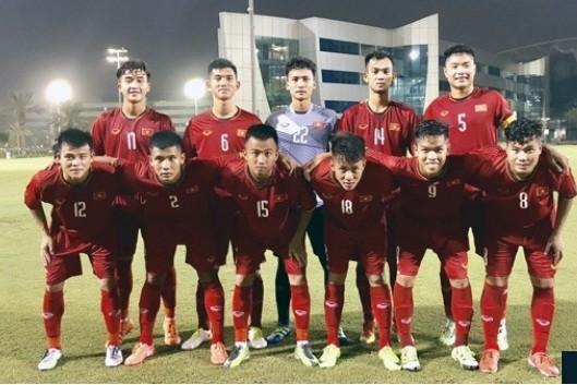 HLV U19 Viet Nam noi gi khi thua nguoc dang tiec U19 Uruguay?