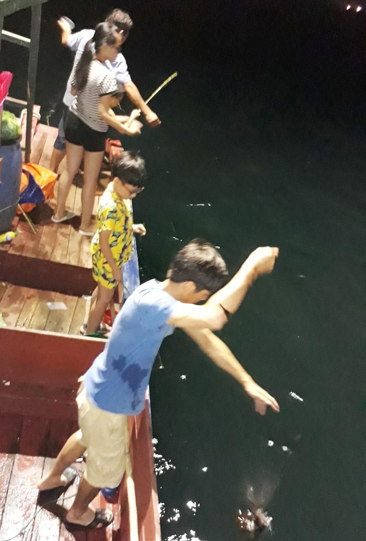 Bat den cau muc dem bang moi gia tren bien Quan Lan-Hinh-2
