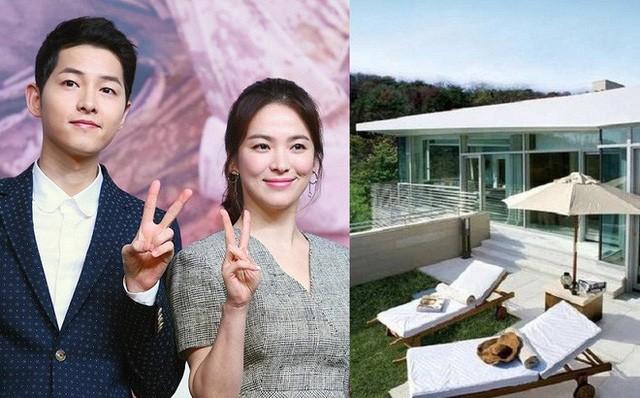 Chiem nguong biet thu khung cua Song Joong Ki va Song Hee Kyo