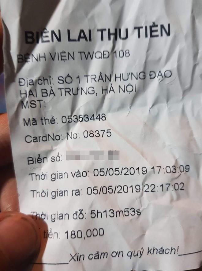 'Nga ngua' vi mat hang tram nghin mot luot gui xe o benh vien