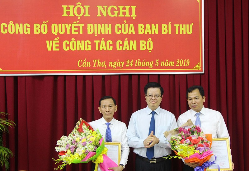 Thu truong Le Quang Manh lam Pho bi thu Thanh uy Can Tho-Hinh-2