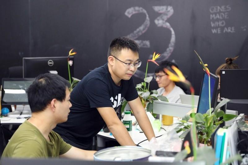 Nguoi TQ do xo di xet nghiem gen, xem to tien co phai Han Cao To-Hinh-2