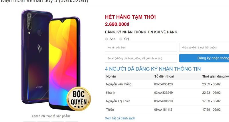 Smartphone moi cua ong Vuong
