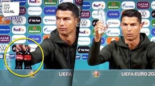 Ronaldo tu choi len hinh cung Coke, Coke thuc su co hai nhu the nao?