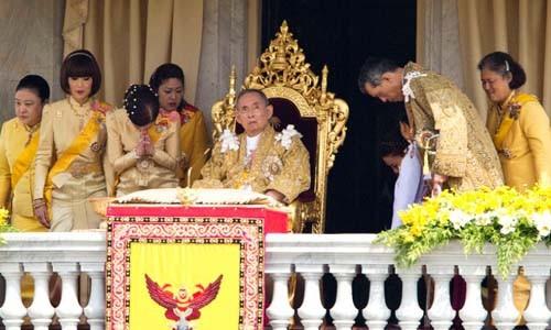 Tang le hoang gia Thai Lan dien ra the nao?