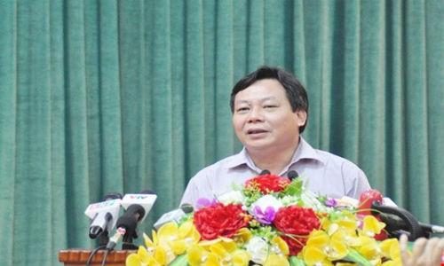 Thanh uy Ha Noi cam on bao chi trong vu Dong Tam