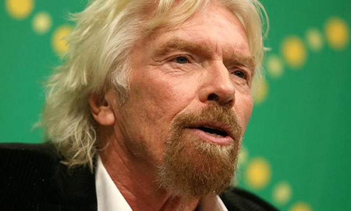"""Ty phu Richard Branson: """"Vui ve - nhan to quan trong de thanh cong"""""""