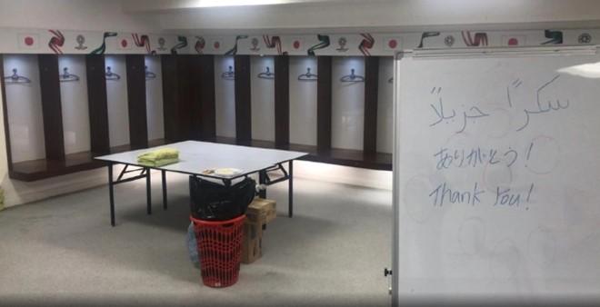 Tuyen Nhat Ban don sach phong thay do sau tran thua Qatar