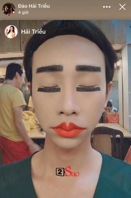 Make up 'suong suong' rong choi thang co hon, Hai Trieu lam fans chay mat dep