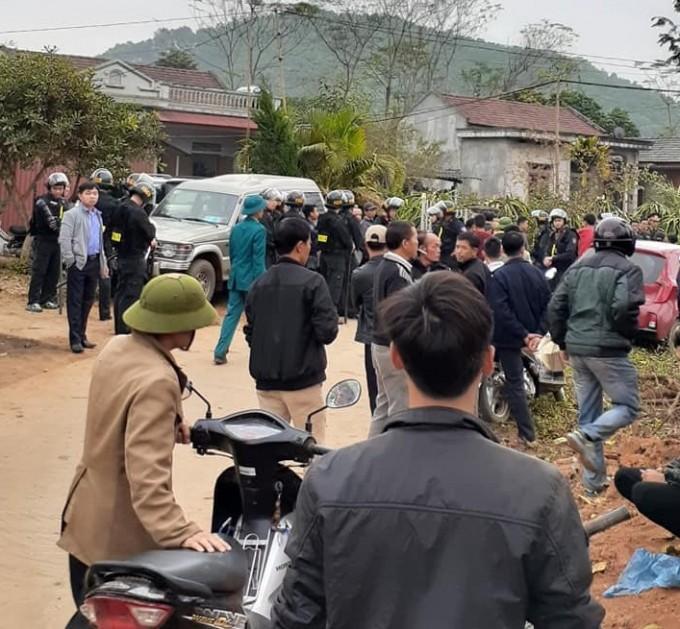 Pho Thu tuong gui loi chia buon va chi dao lam ro vu tham sat o Thai Nguyen