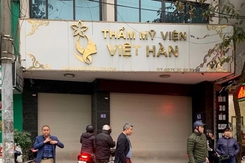 Hut mo bung tu vong: Tham my Viet - Han chua duoc So Y te cap phep
