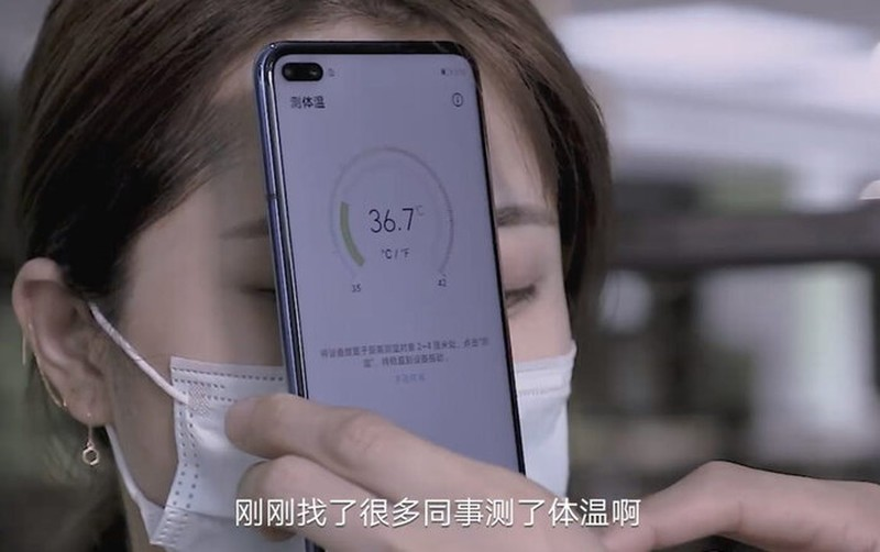 Xuat hien smartphone co the do nhiet do co the