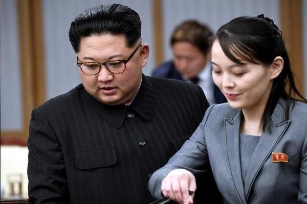 Em gai Kim Jong Un canh bao sac lanh voi Han Quoc