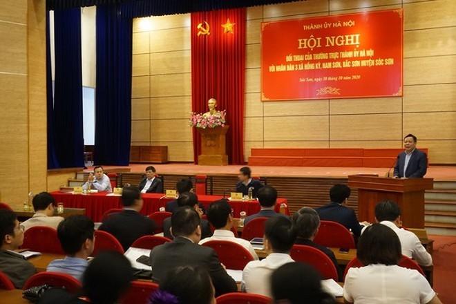 Vu bai rac Nam Son: Thanh uy Ha Noi giao Thanh tra thanh pho vao cuoc-Hinh-2