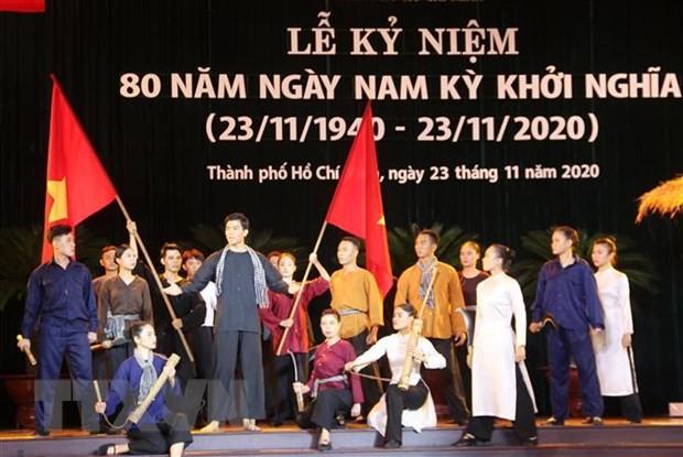 Ky niem 80 nam Ngay Nam Ky khoi nghia: Sang ngoi tinh than quat khoi