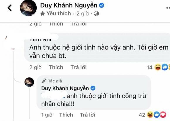Duy Khanh phan phao cuc gat khi bi hoi ve gioi tinh-Hinh-2