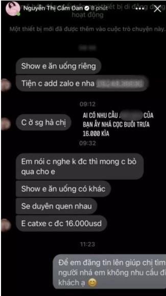 Tinh tin don cua chong cu Le Quyen cong khai tin nhan nhay cam