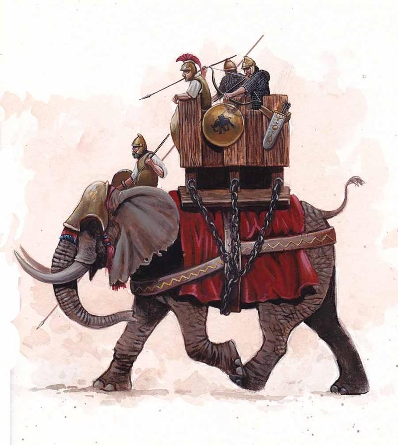 """Danh tuong lung danh de che Carthage khien La Ma """"mat an mat ngu"""""""