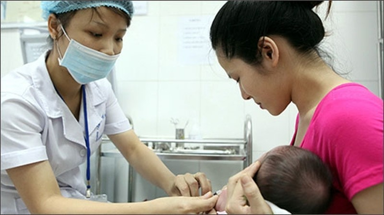 TP HCM tiem 125.000 mui vacxin bach hau cho tre