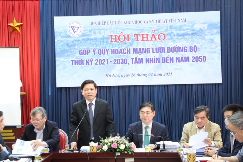 VUSTA to chuc Hoi thao gop y quy hoach mang luoi duong bo thoi ky 2021 – 2030-Hinh-7