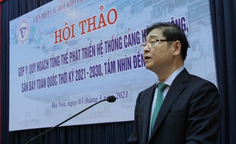 VUSTA gop y quy hoach tong the phat trien he thong cang hang khong, san bay toan quoc