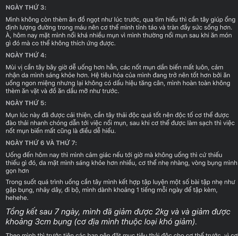 Uong nuoc ep can tay co thuc su giup ban giam can?-Hinh-2