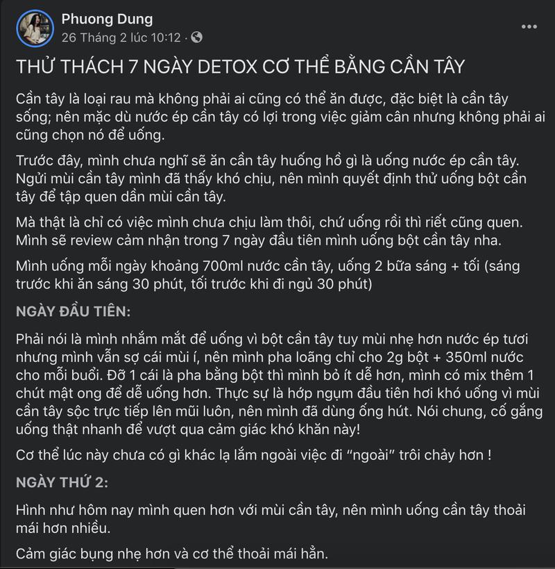 Uong nuoc ep can tay co thuc su giup ban giam can?