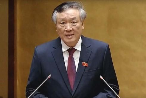 Chanh an TAND toi cao Nguyen Hoa Binh: Khong co an oan nguoi khong co toi