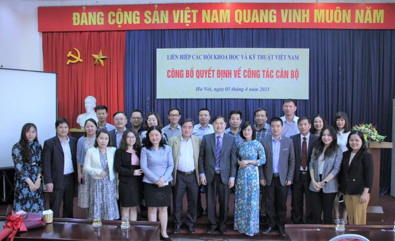 VUSTA cong bo cac quyet dinh bo nhiem can bo chu chot-Hinh-4