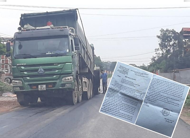 Tram be tong khong phep o Bac Giang: Ngang nhien ban cho cong trinh trong diem