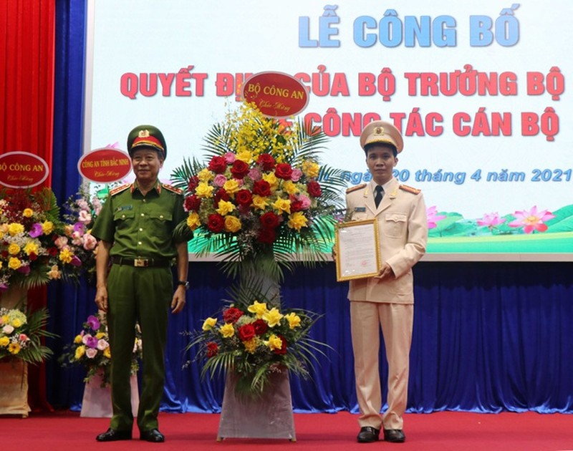 Bac Ninh co tan Giam doc Cong an tinh