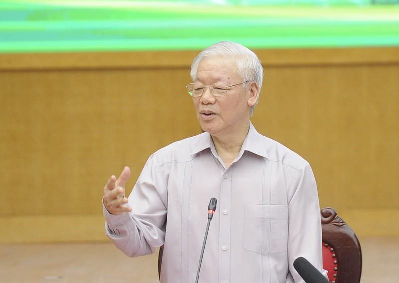 Tong Bi thu Nguyen Phu Trong: Khong duoc