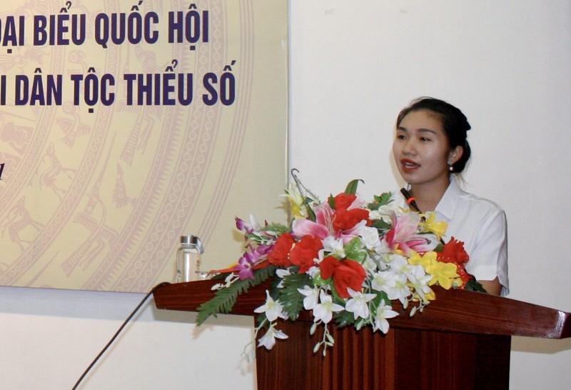 Dai bieu Quoc hoi khoa XV tre tuoi nhat sinh nam 1997