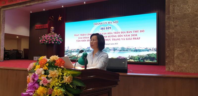 Ha Noi huong phat trien cong nghiep van hoa tro thanh nganh kinh te mui nhon