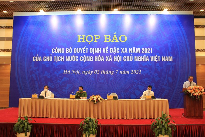 Khang nghi tha tu cho Phan Sao Nam truoc thoi han, Thu truong Bo CA noi gi?