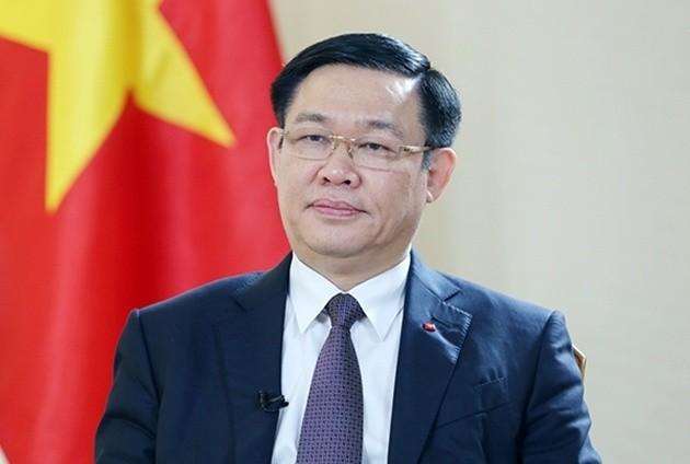 Ong Vuong Dinh Hue duoc de cu lam Chu tich Quoc hoi khoa XV