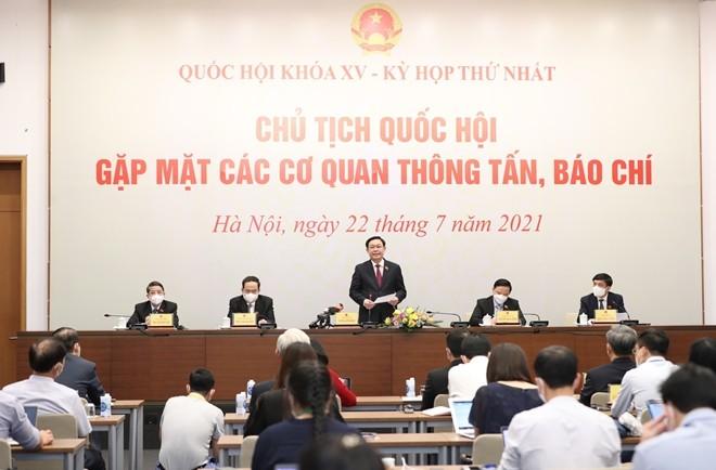 Chu tich Quoc hoi Vuong Dinh Hue: 499 dai bieu la kho tang kien thuc, kinh nghiem vo gia