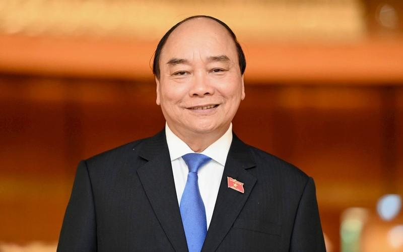 Ong Nguyen Xuan Phuc tai dac cu Chu tich nuoc